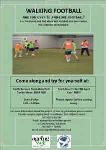 Walking Football @ North Berwick Recreation Park